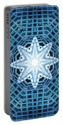 Abstract Blue 14 Portable Battery Charger