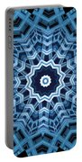 Abstract Blue 16 Portable Battery Charger