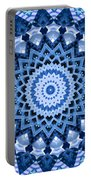 Abstract Blue 17 Portable Battery Charger