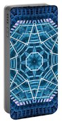 Abstract Blue 19 Portable Battery Charger