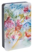 Abstract Bouquet Portable Battery Charger