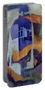Abstract Bridges Portable Battery Charger