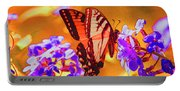 Abstract Butterfly Portable Battery Charger