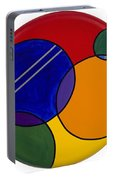 Abstract Circle 3 Portable Battery Charger