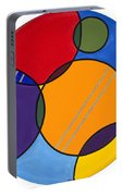 Abstract Circles 2 Portable Battery Charger