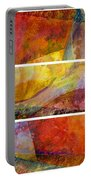 Abstract Collage No. 4 Portable Battery Charger