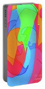 Abstract Color Block  Portable Battery Charger
