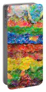 Abstract Color Combination Series - No 8 Portable Battery Charger