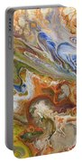 Abstract Colour Portable Battery Charger