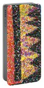 Abstract Combination Of Colors No 6 Portable Battery Charger