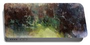 Abstract Contemporary Art Portable Battery Charger