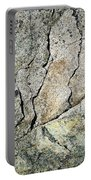 Abstract Cracks On A Granite Block Of Stone Portable Battery Charger