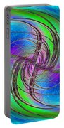 Abstract Cubed 261 Portable Battery Charger