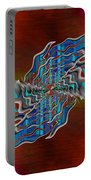 Abstract Cubed 271 Portable Battery Charger