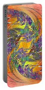 Abstract Cubed 314 Portable Battery Charger