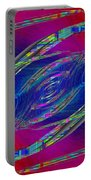 Abstract Cubed 323 Portable Battery Charger