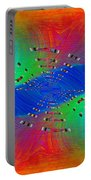 Abstract Cubed 328 Portable Battery Charger