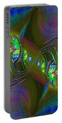 Abstract Cubed 361 Portable Battery Charger