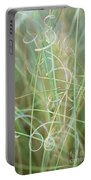 Abstract Curly Grass One Portable Battery Charger