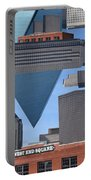 Abstract Dallas Portable Battery Charger