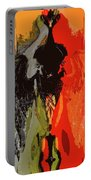 Abstract Dark Angel Portable Battery Charger