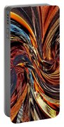 Abstract Delight Portable Battery Charger