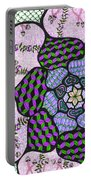 Abstract Design #3 Portable Battery Charger