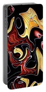 Abstract Digital Art #030 Portable Battery Charger