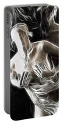 Abstract Digital Artwork Of A Couple Making Love Portable Battery Charger by Oleksiy Maksymenko