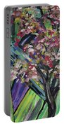 Abstract Dogwood Portable Battery Charger