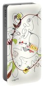Abstract Drawing Fifty-four Portable Battery Charger