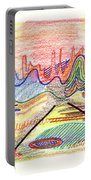 Abstract Drawing Five Portable Battery Charger