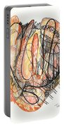 Abstract Drawing Forty-five Portable Battery Charger