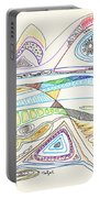 Abstract Drawing Seventeen Portable Battery Charger