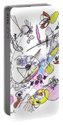 Abstract Drawing Seventy-two Portable Battery Charger