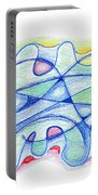 Abstract Drawing Sixty-five Portable Battery Charger