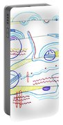 Abstract Drawing Sixty-three Portable Battery Charger
