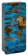 Abstract Duck Portable Battery Charger