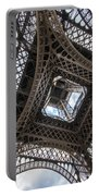 Abstract Eiffel Tower Looking Up 2 Portable Battery Charger