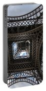 Abstract Eiffel Tower Looking Up Portable Battery Charger