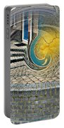 Abstract Entrada Twirl Break Portable Battery Charger