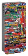 Abstract Expressionism Bvdschueren Portable Battery Charger