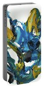 Abstract Expressionism Painting Series 715.102710 Portable Battery Charger