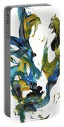 Abstract Expressionism Painting Series 716.102710 Portable Battery Charger