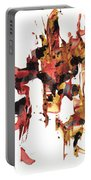 Abstract Expressionism Painting Series 744.102110 Portable Battery Charger