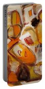Abstract Expressionism Three Portable Battery Charger