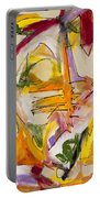 Abstract Expressionism Two Portable Battery Charger