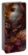 Abstract Face #0066 Portable Battery Charger