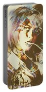 Abstract Fashion Pop Art Portable Battery Charger