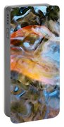 Abstract Fish Art - Fairy Tail Portable Battery Charger
